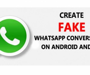 Fake Whatsapp Conversation On Android & iPhone