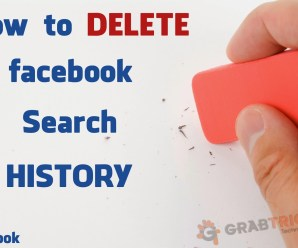 Delete Facebook All Search History At Once
