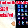 Remove Bloatware From Rooted Android Device