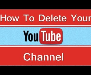 How To Delete A YouTube Account