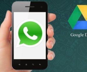Safe WhatsApp Data With Google Drive
