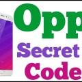 OPPO All HiddenSecret Codes List