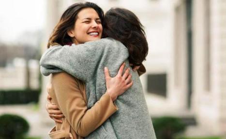 Hugs really do make you feel better