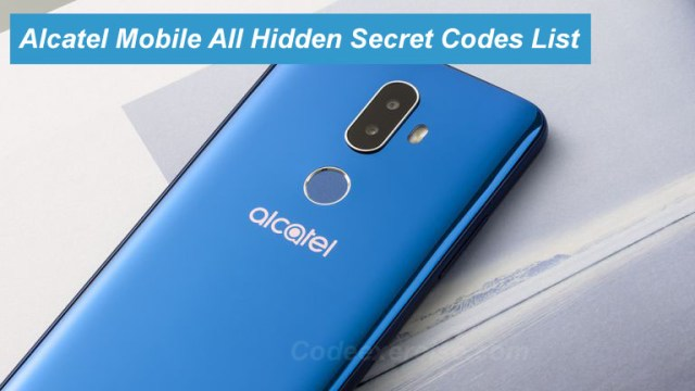 Alcatel Mobile All Hidden Secret Codes List | | Code Exercise