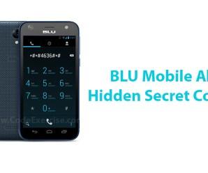 BLU Mobile All Hidden Secret Codes List