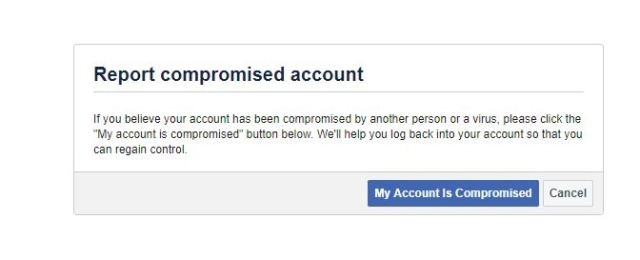 Recover or delete facebook account