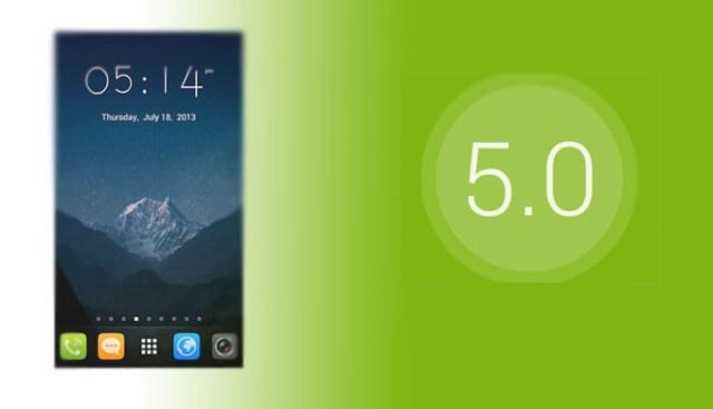 GO Launcher EX UI5 0 theme