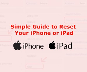 Simple Guide to Reset Your iPhone or iPad