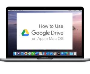 How to Use Google Drive on Apple Mac OS