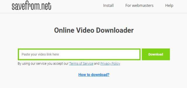 savefrom net online video convatar