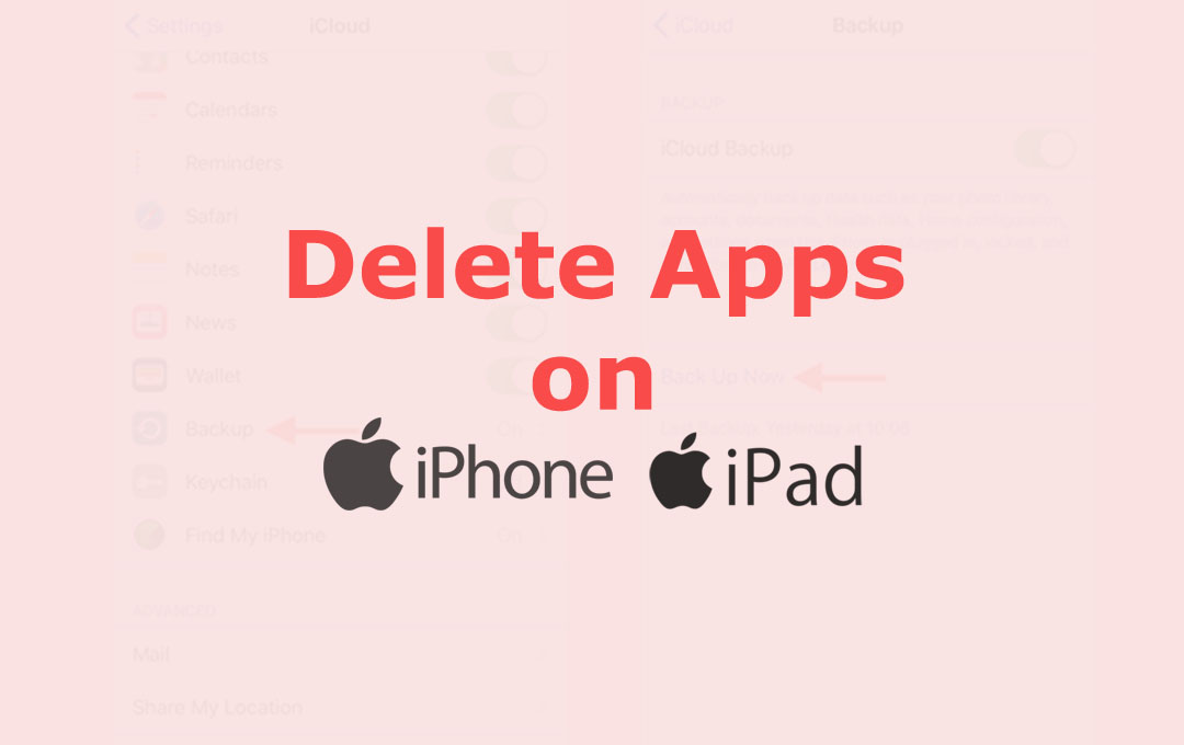Delete Apps on iPhone & iPad
