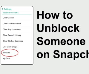How to Unblock Someone on Snapchat