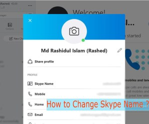 How to Change Skype Name on Pc, Mobile and Mac