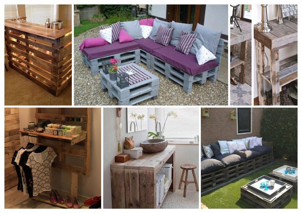 22 meubles a faire avec des palettes en