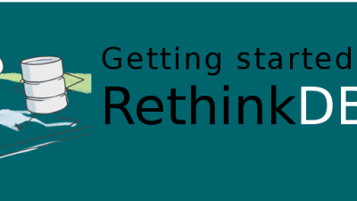 Node and Rethink banner