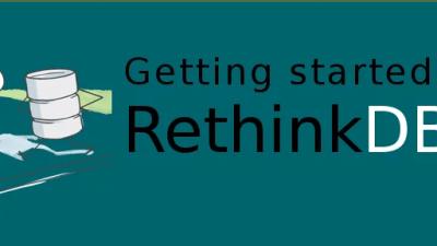 Node and Rethink banner