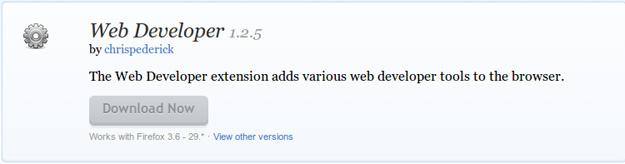 Web-Developer-Add-ons-for-Firefox
