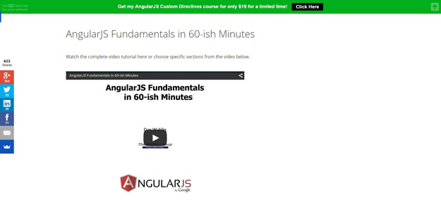 angularjs fundamentals