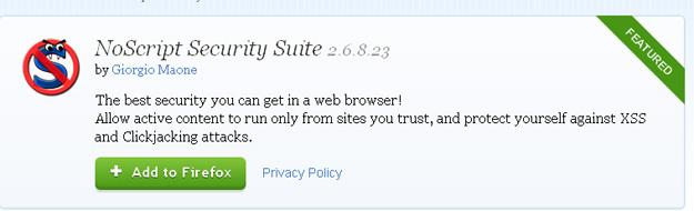 no script security suit