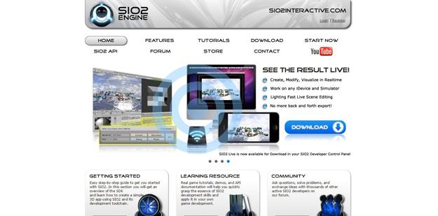 sio2 interactive