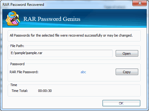 Situation 1: Extract Encrypted RAR File with Password