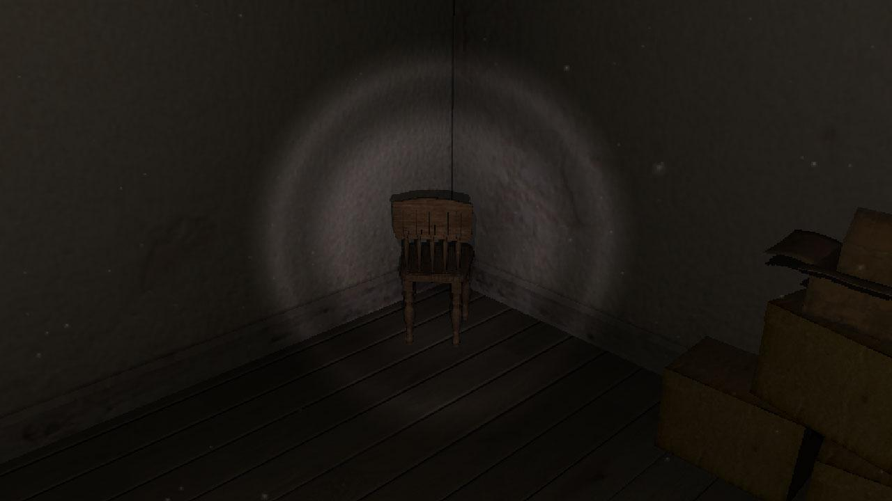 A chair in the room is a VR horror game!