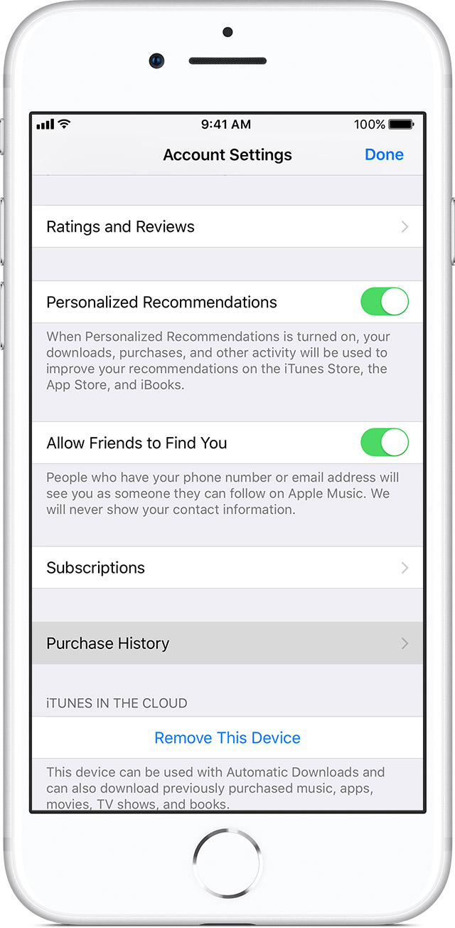 itunes purchase history on iphone how to view itunes purchase history in mac pc or iphone 17761