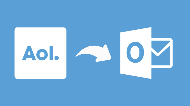Transfer emails from AOL to Outlook for free