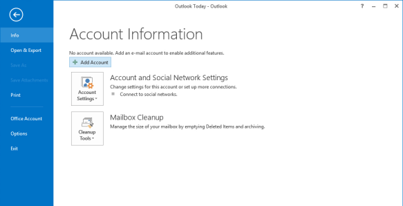 migrate AOL to Outlook