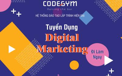 Tuyển nhân viên Digital Marketing – Đi làm ngay!