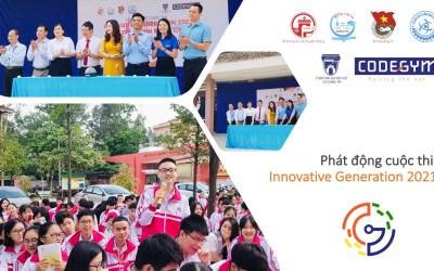 """Phát động cuộc thi """"Innovative Generation 2021: Tuổi trẻ chinh phục công nghệ thông tin"""" tại Quảng Trị"""