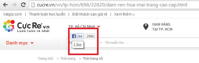 Cách phát hiện các site đặt like FB ẩn