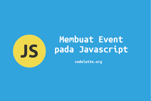 Membuat Event pada Javascript