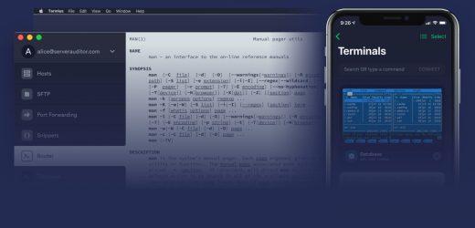 Menggunakan Termius sebagai SSH Client