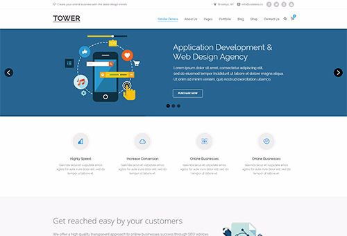 Tower SEO WordPress Theme