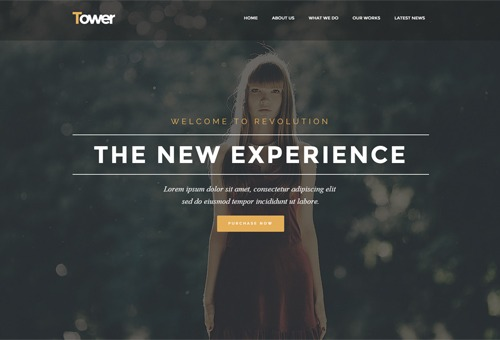 Tower Creative WordPress Theme