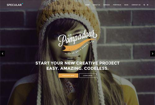 Specular Creative WordPress Theme