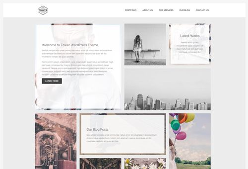 Tower Masonry WordPress Theme