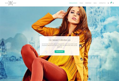 Tower Sliding WordPress Theme