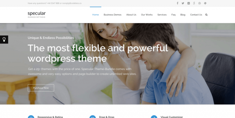 Specular WP Theme
