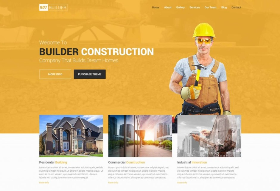 907 Construction – OnePage – Multi OnePage Parallax WordPress Theme-compressed