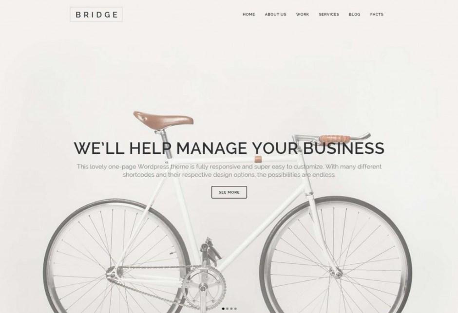 Bridge Creative Multi Purpose WordPress Theme-compressed