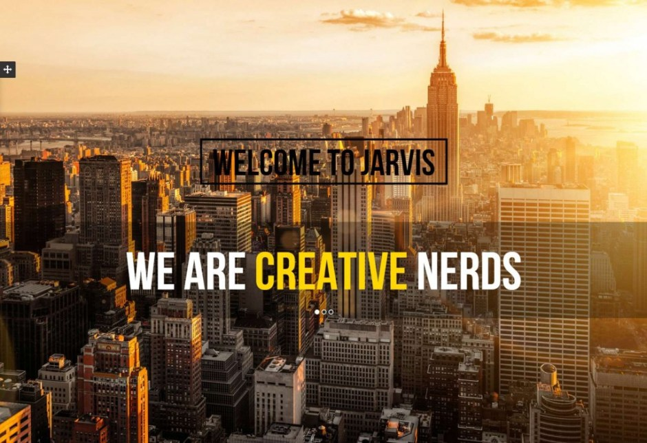 Jarvis One Page Parallax Template-compressed