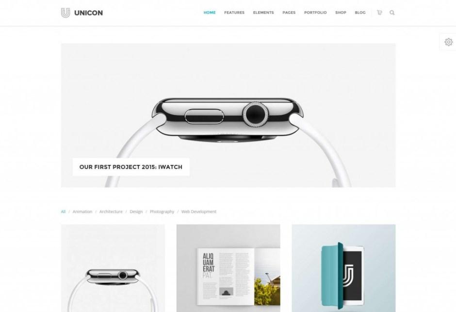 Unicon | Design-Driven Multipurpose Theme