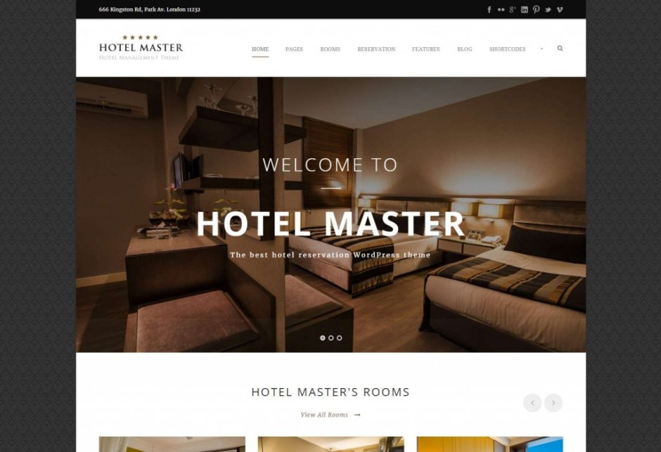 Hotel Master Room Reservation WordPress Theme-compressed