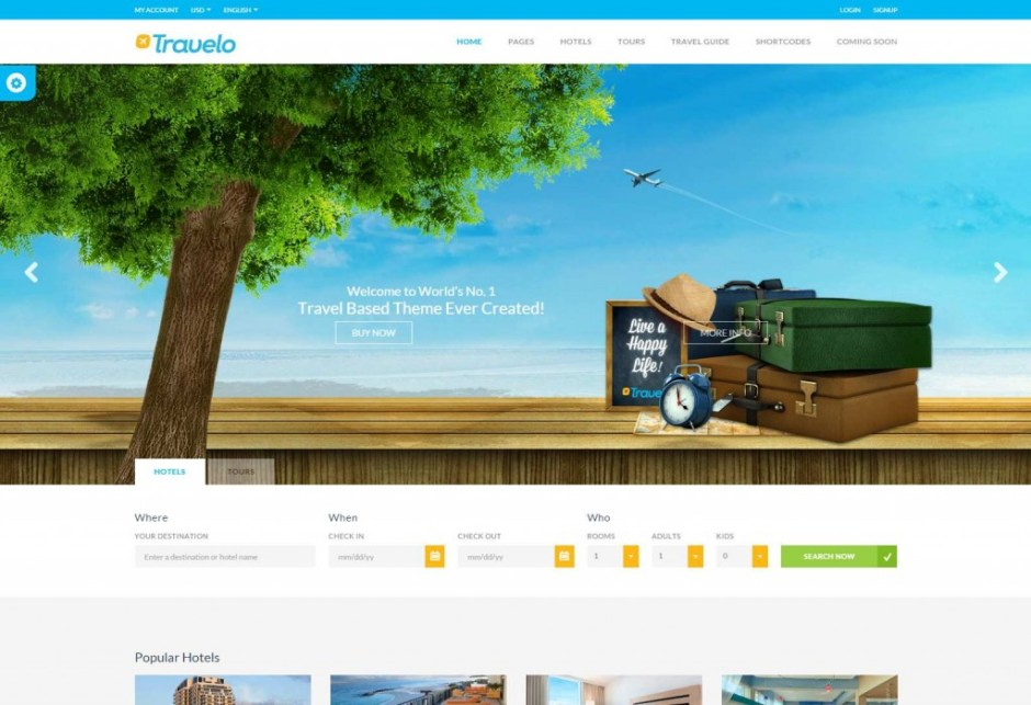 Travelo – Travel Tour Booking WordPress Theme Just another WordPress site-compressed