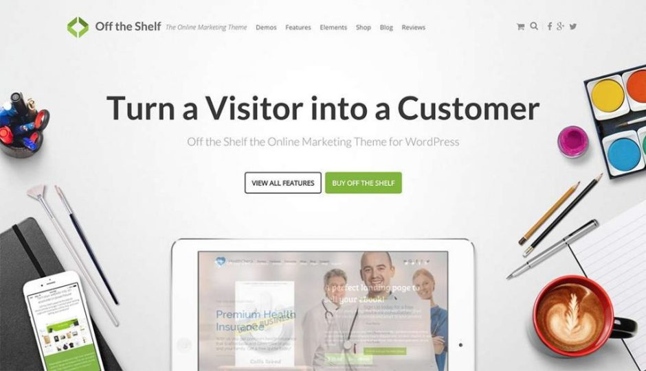 Off the Shelf for WordPress – The Most Powerful Online Marketing WordPress Theme-compressed