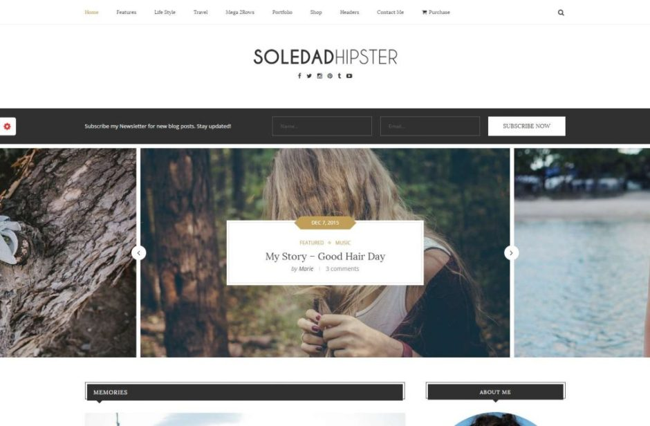 Soledad – Best Vintage Retro WordPress Themes 2016-compressed