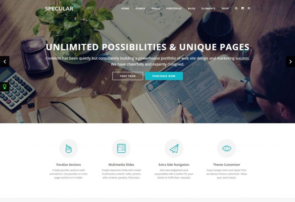 Specular – Responsive Multi Purpose Theme Just another WordPress site-compressed