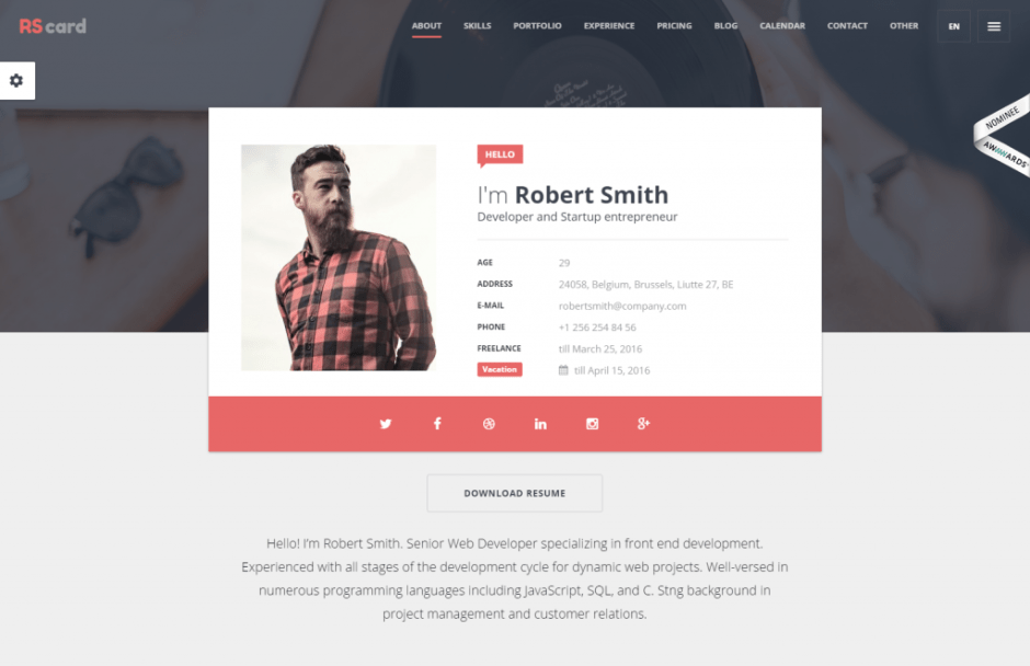 rs-card-just-another-wordpress-site